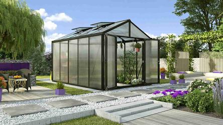 skleník VITAVIA ZEUS 10000 PC 6+10 mm