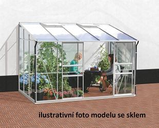 skleník VITAVIA IDA 6500 PC 6 mm stříbrný