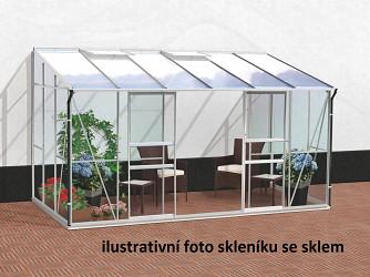 skleník VITAVIA IDA 7800 PC 4 mm stříbrný