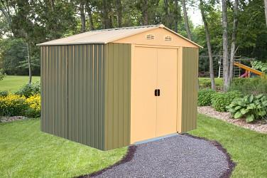 zahradní domek KROFTAS STORAGE 8x10