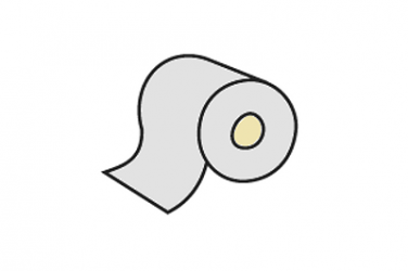 spodní samolepící mikropryž 19 mm šedá, klubo 30 m