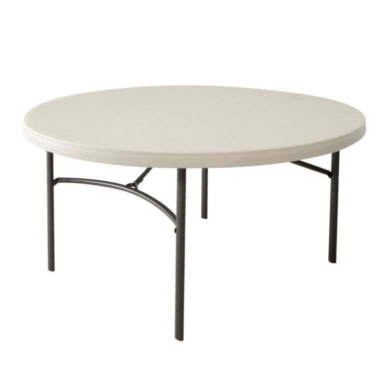 kulatý skládací stůl 152 cm LIFETIME 80121