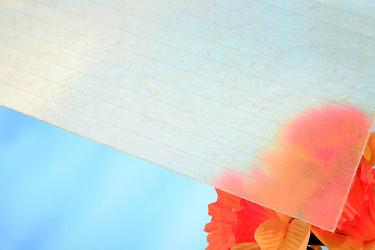 Plochá role ze sklolaminátu, výška 1,0 m, síla 1,80 mm, čirá