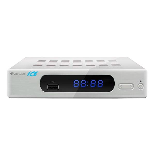 DVB-T/T2 přijímač Zircon ICE, bílý