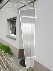 boční stěna LANITPLAST UNI bílá / PC
