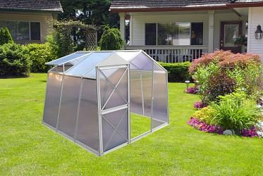 skleník LANITPLAST DODO BIG 8x7 PC 4 mm šedý