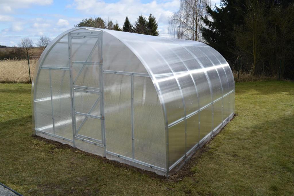 skleník LANITPLAST KYKLOP 3x6 m PC 4 mm