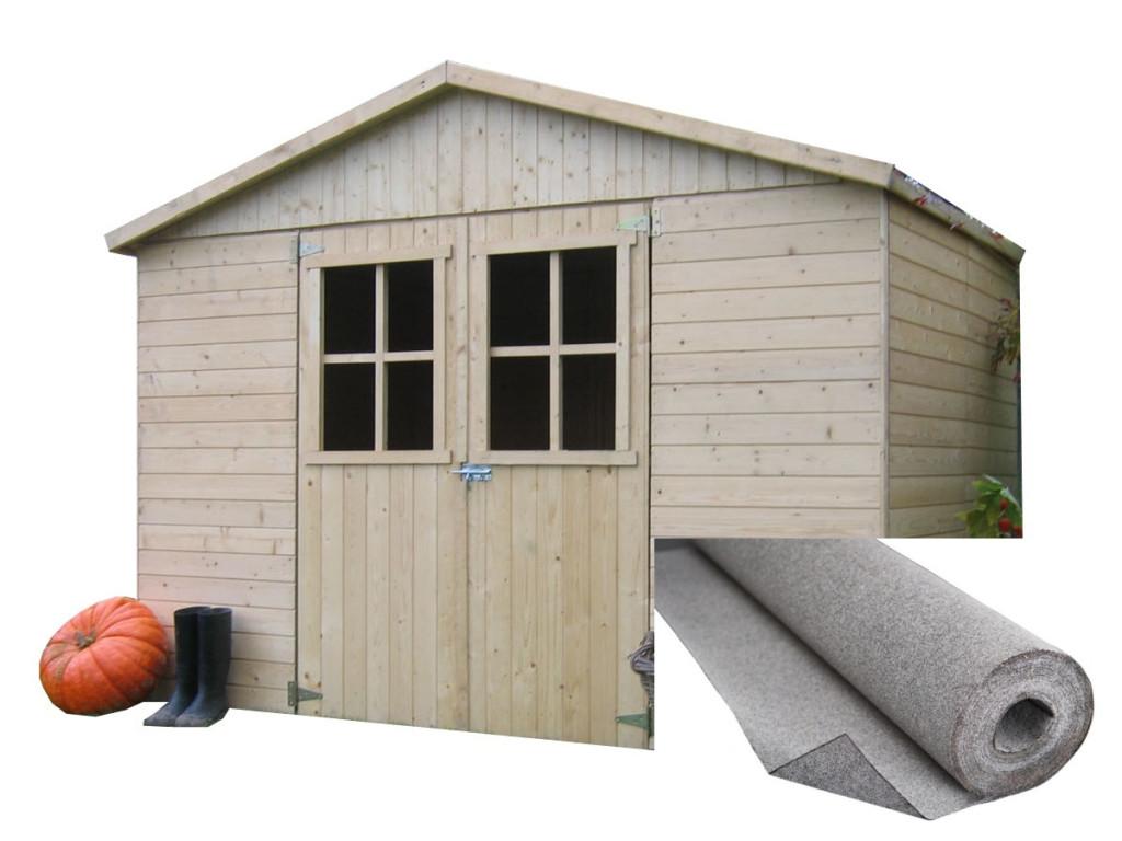 dřevěný domek SOLID ESTER 281 x 194 cm (P859)