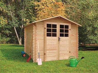 dřevěný domek SOLID PAVEL 290 x 250 cm (P87903)