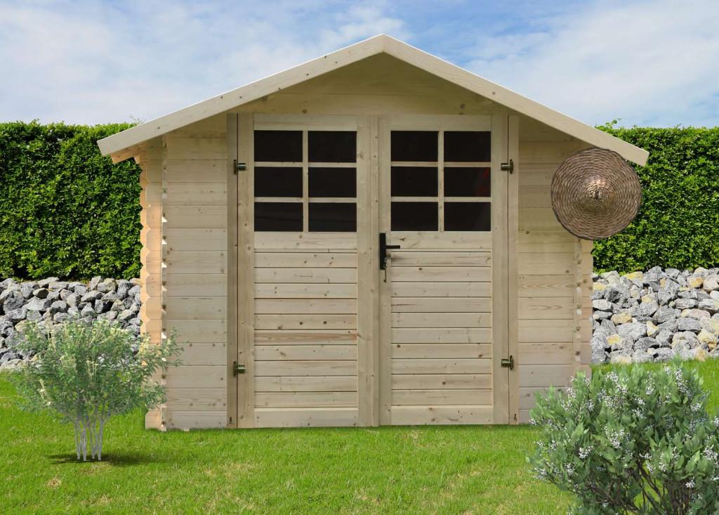 dřevěný domek SOLID PETR 344 x 205 cm (P88902)