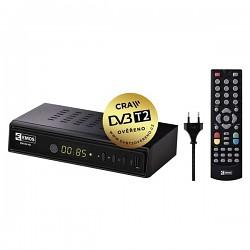 DVB-T/T2 přijímač EMOS EM180 HD