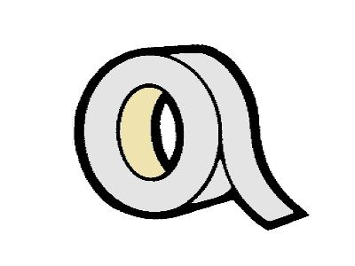 AL uzavírací páska 25 mm pro desky 4 - 10 mm (metráž)
