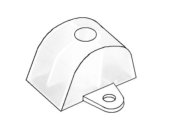 distanční podložka pro VL 100/30 a 130/30