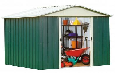Zahradní domek KROFTAS 109 - 303 x 280 cm zelený