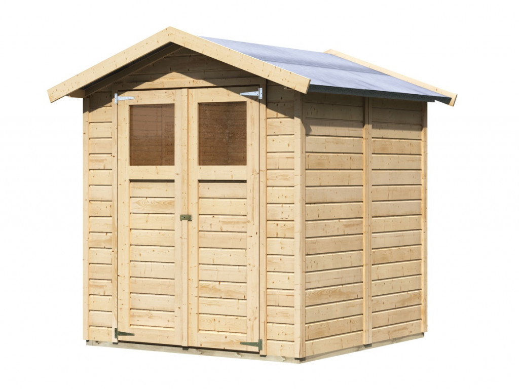 dřevěný domek KARIBU DAHME 3 (42562) natur