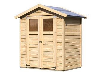 dřevěný domek KARIBU DAHME 1 (42558) natur