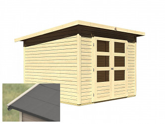 dřevěný domek KARIBU STOCKACH 4 (82980) natur