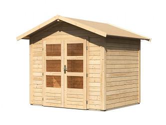 dřevěný domek KARIBU TALKAU 3 (83335) natur