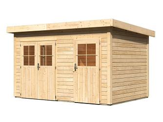 dřevěný domek KARIBU TINTRUP (64279) natur