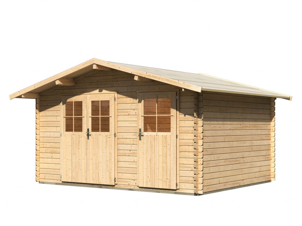 dřevěný domek KARIBU RADUR 1 (44978) natur