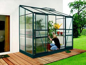 skleník VITAVIA IDA 3300 PC 4 mm zelený
