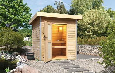 finská sauna KARIBU TORGE (86183)