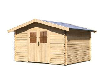 dřevěný domek KARIBU MÜHLHEIM 4 (88596) natur