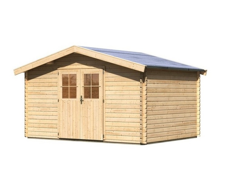 dřevěný domek KARIBU MÜHLHEIM 5 (88597) natur