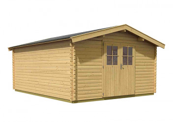 dřevěný domek KARIBU MÜHLHEIM 7 (88599) natur
