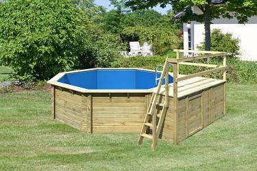 bazén KARIBU 4,7 x 4,7 m C2 (45636)