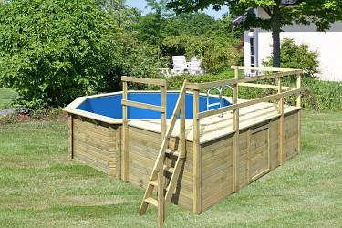 bazén KARIBU 4,0 x 4,0 m D1 (45629)