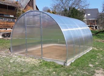 skleník LANITPLAST VOLHA 3,3x8 m PC 6 mm