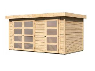 dřevěný domek KARIBU MÜHLENTRUP (83541) natur
