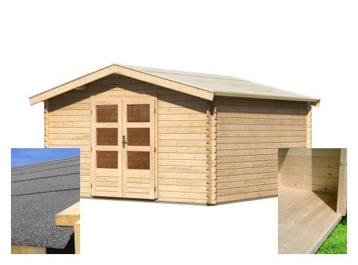 dřevěný domek KARIBU BAYREUTH 6 (14527) SET