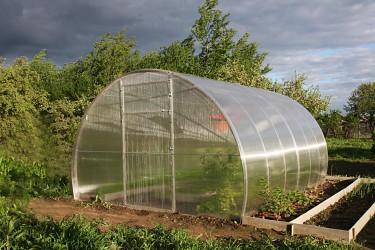 skleník LANITPLAST DNĚPR 3,14x4 m PC 8 mm