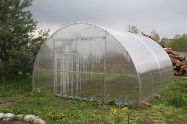 skleník LANITPLAST URAL 4x6 m PC 8 mm