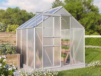 skleník VITAVIA TARGET 3800 PC 4 mm stříbrný