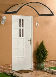 stříška nad dveře LANITPLAST ONYX 160/90 antracit