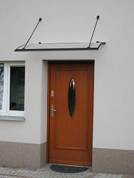 stříška nad dveře LANITPLAST TURKUS 140/85 antracit