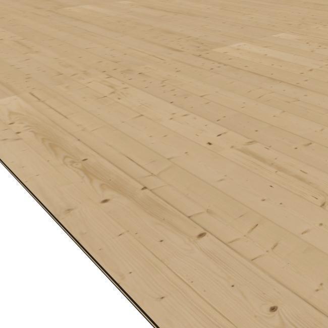 dřevěná podlaha KARIBU QUBIC 1 (76624)