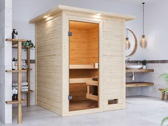 finská sauna KARIBU SANDRA (6160)