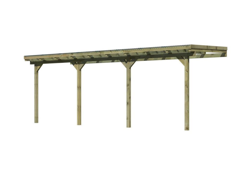 dřevěná pergola KARIBU ECO 1C (64649)