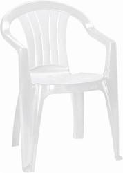 Plastová židle Keter Sicilia Bílá