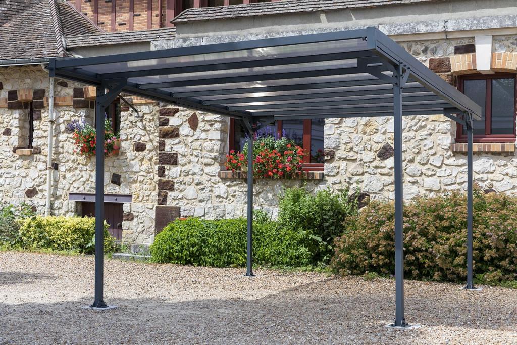 kovový přístřešek / carport TRIGANO JARDIN MISTRAL