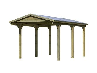carport KARIBU SATTELDACH 1 43468
