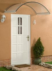stříška nad dveře LANITPLAST ONYX 160/75 bílá
