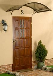 stříška nad dveře LANITPLAST ARCO 160/90 hnědá