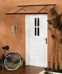 stříška nad dveře LANITPLAST OTIS 120/85 hnědá