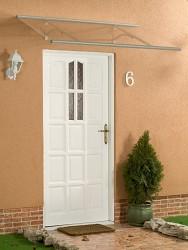 stříška nad dveře LANITPLAST OTIS 160/85 stříbrná