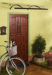 stříška nad dveře LANITPLAST OLOR 160/87 hnědá
